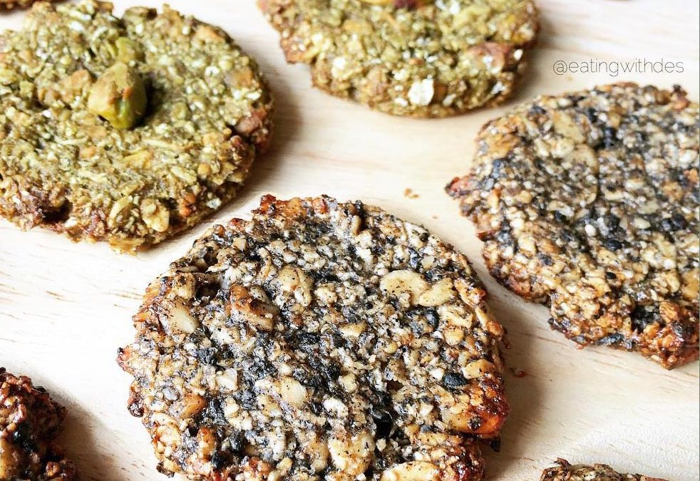 Matcha Cookies By Eating With Des