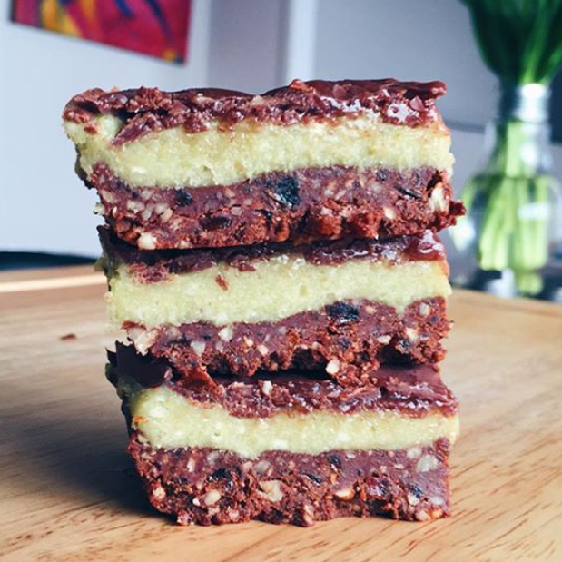 RAW CHOC MINT MATCHA SLICE by Gluten Free Guru