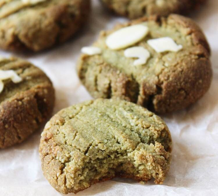 Matcha And Almond Cookies By The Healthy French Wife