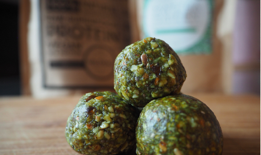 Matcha Protein Balls By Aunt Maggie's