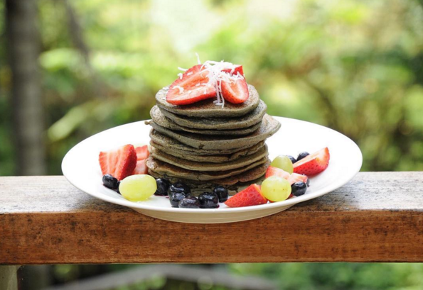 Matcha Protein Pancakes By Healthy Nourished Life