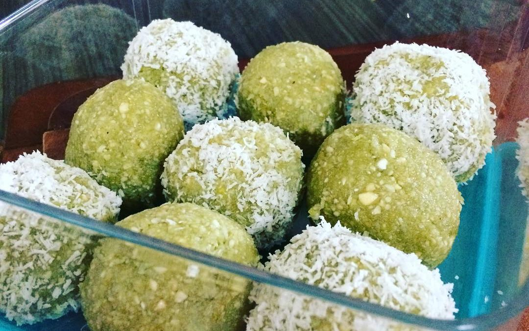 Matcha Lemon Bliss Balls By Desjohzzled