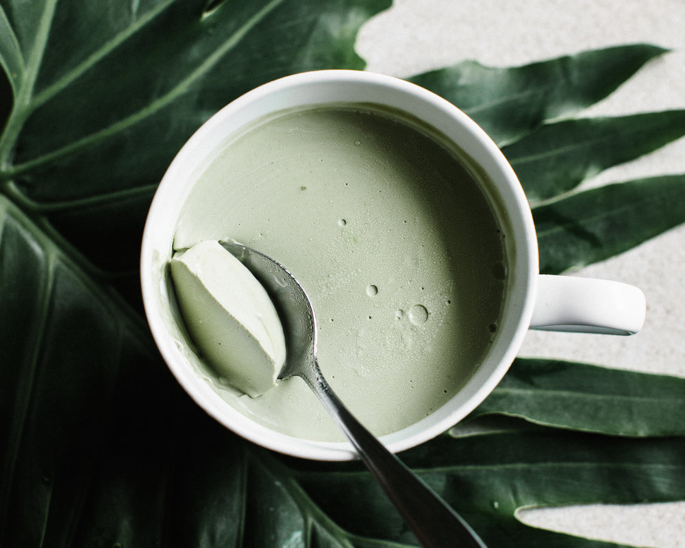 coconut recipe for matcha